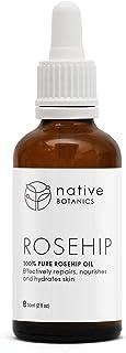 Native Botanics Rosehip Oil – 100% Natural, Certified