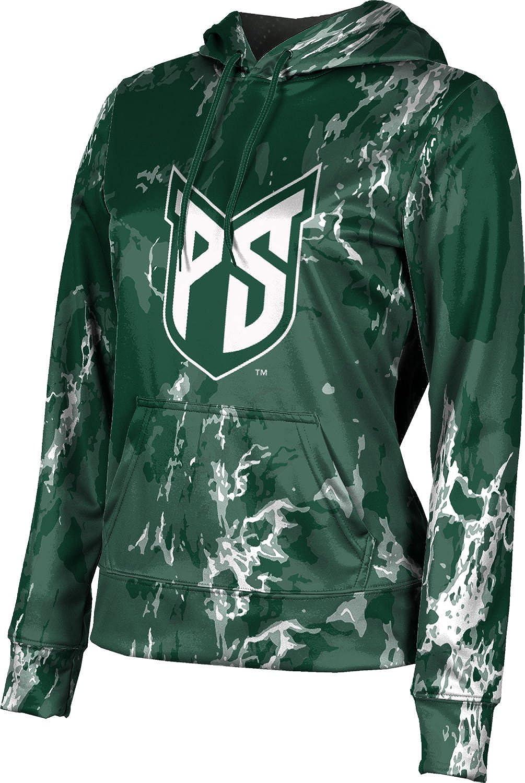 ProSphere Portland State University Girls' Pullover Hoodie, School Spirit Sweatshirt (Marble)