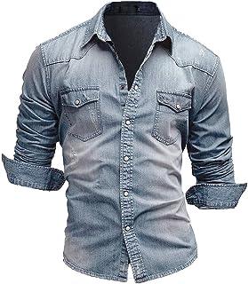 Amazon.es: Cuello mao - Camisas casual / Camisetas, polos y ...