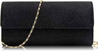 Luxury woman manmade evening clutch bag with model number M735