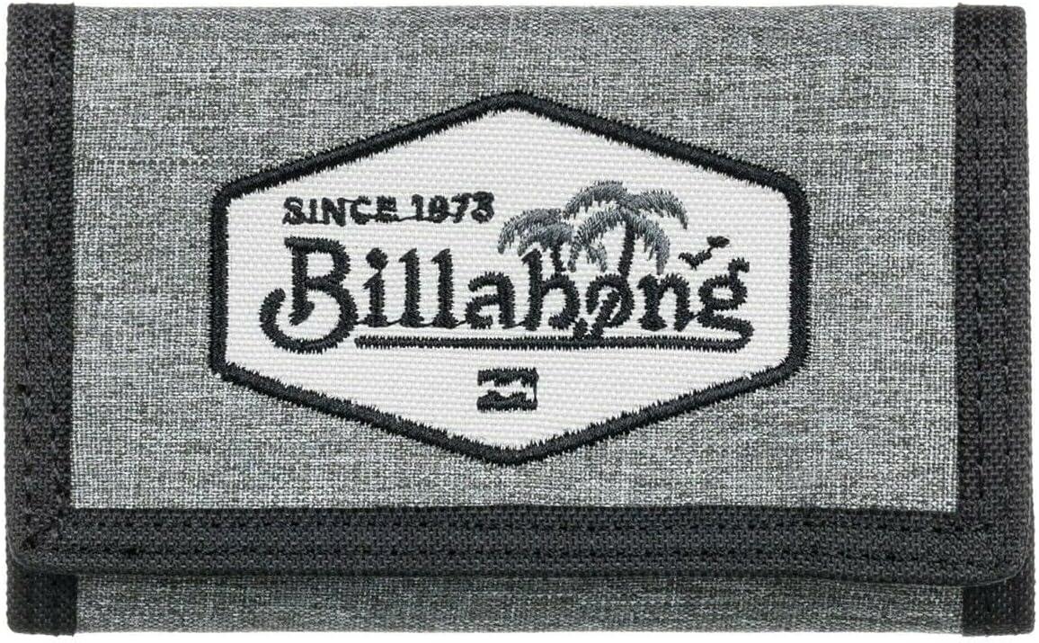 Billabong™ Walled Lite - Cartera para Hombre Z5WL04BIF1, gris, Taille unique