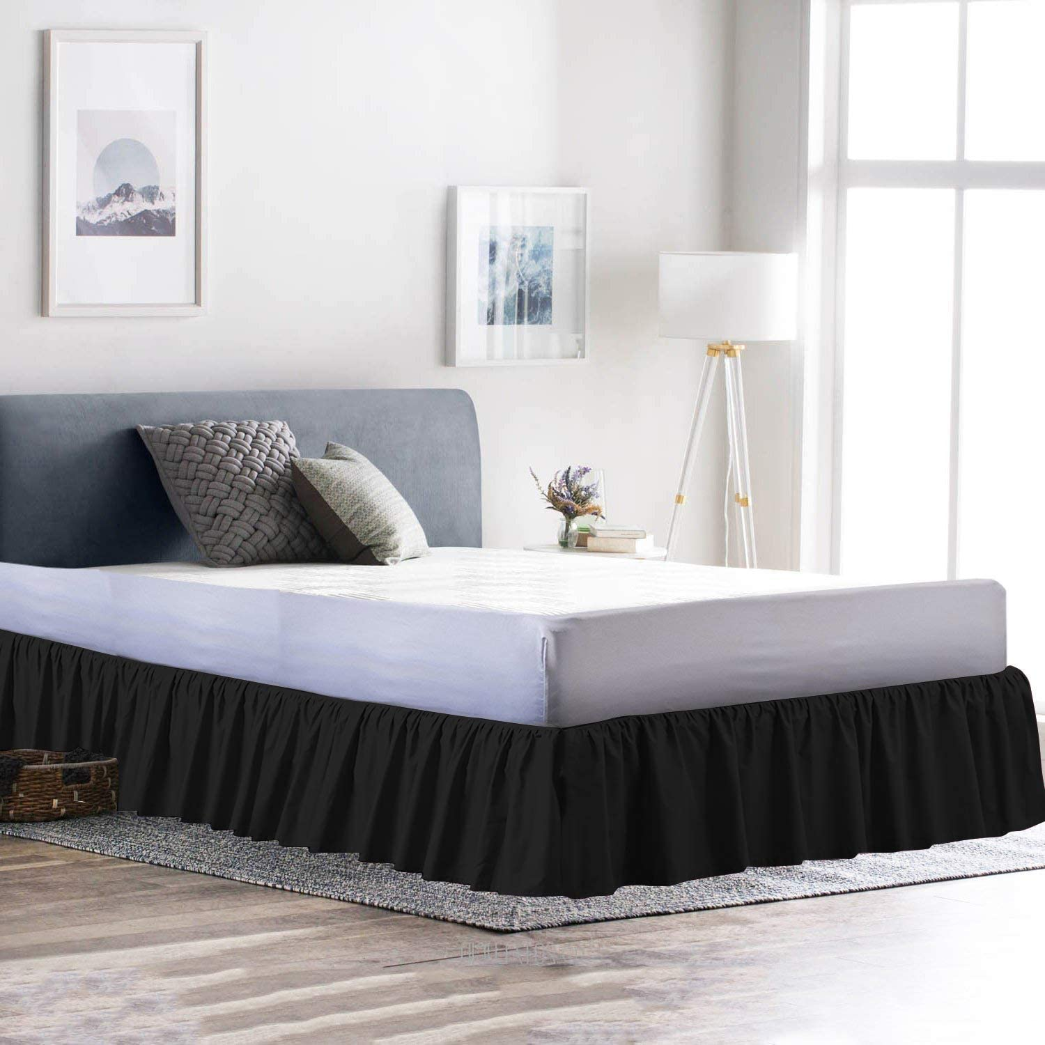 Unique' 100% Egyptian Cotton Limited time sale with Ruffle Count Max 90% OFF Thread 800 BedSki