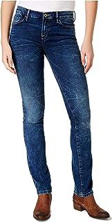 Tommy Hilfiger Women's Straight-Leg Jeans Sea Blue 2
