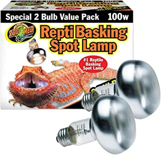 DBDPet Repti Basking Spot Bulb [Value 2 Pack] - Includes Attached 5 Point Pro-Tip Guide