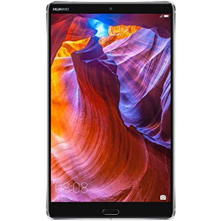 "Huawei MediaPad M5 Tablet with 8.4"" 2.5D Display, Octa Core, Quick Charge, Dual Harman Kardon-Tuned Speakers, WiFi Only, 4Gb+64Gb, Space Gray (US Warranty)"
