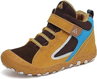 Boy's Girl's Hiking Boots Anti-Slip Water Resistant Sneaker Kids Running Walking Shoes