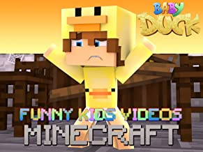 Clip: Baby Duck - Funny Kids Minecraft Videos