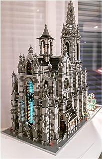 نموذج الكاتدرائية المعيارية المبدعة من YOUPIN Leg Classic Creative Architecture مع لغز لعبة هدية للأطفال (اللون: C4696)