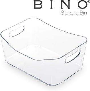 BINO Refrigerator, Freezer and Pantry Cabinet Storage Organizer Bin with Handles –..