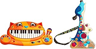 HOLIDAY BUNDLE ! B. toys Meowsic AND B. toys Woofer