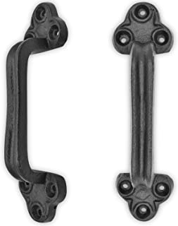 """Rustic Barn Door Grab Handle Pull - Set of 2 