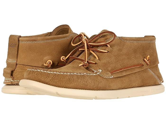 UGG  Beach Moc Chukka (Caramel) Mens Shoes