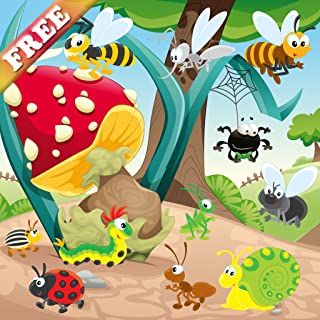 Worms and Bugs for Toddlers and Kids : discover the insect world ! games for kids - FREE game