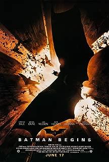 batman begins movie poster original
