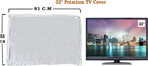 "WOOLF 32"" Master Piece LED/LCD TV Cover (White)"