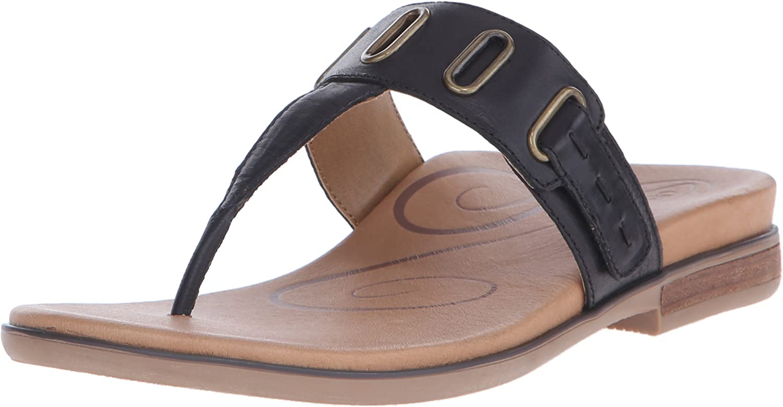 Aetrex Women's Zara D-Ring Thong Dress Sandal