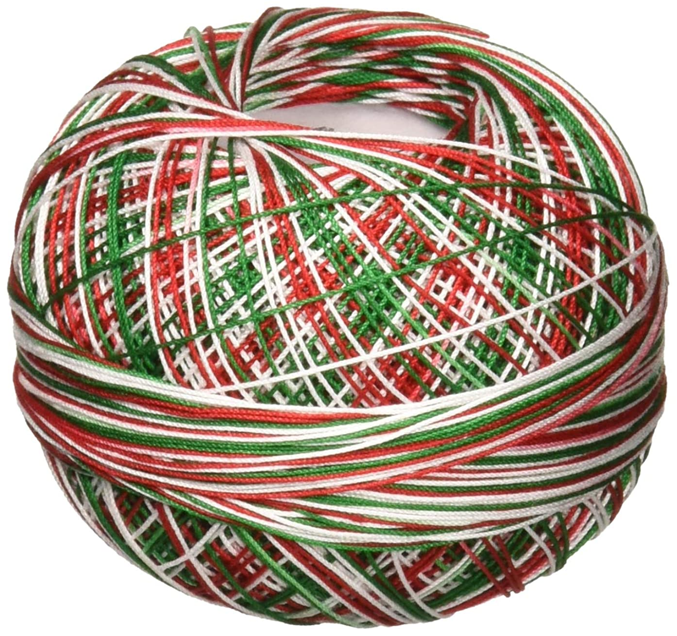 Handy Hands Lizbeth Premium Cotton Thread, Size 40, Christmas Delight