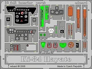 Eduard 1:32 Ki-84 Hayate Interior for Hasegawa - Color PE Detail Set #32542