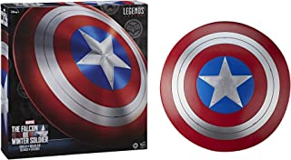 Hasbro Marvel Legends Series Avengers Falcon And Winter Soldier Captain America Premium Role Play Shield -Adult Fan -Costu...