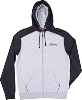 ainr Mens Classic Cotton Long Sleeve Stripe French Terry Pullover Hoodie Sweatshirt