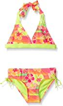 Breaking Waves Girls' Sunset Tropic Bikini Swimsuit