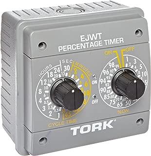 Tork EJWT Series Percentage Timer Switch, 120-240VAC Input Supply 60 Hz, SPDT Output Contact
