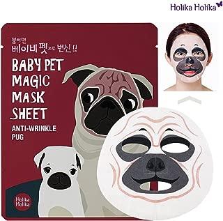 [Holika Holika] Baby Pet Magic Mask Sheet 22ml #Anti-Wrinkle Pug (5 Sheet)