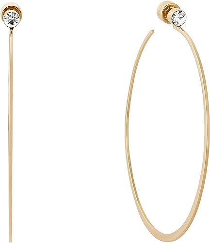 Michael Kors Large Gold Hoop Earrings