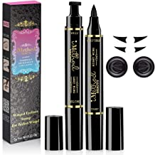 Eyeliner Stamp – iMethod 2 Pens Winged Eyeliner Stamp, Perfect Wing Cat Eye Stamp,..