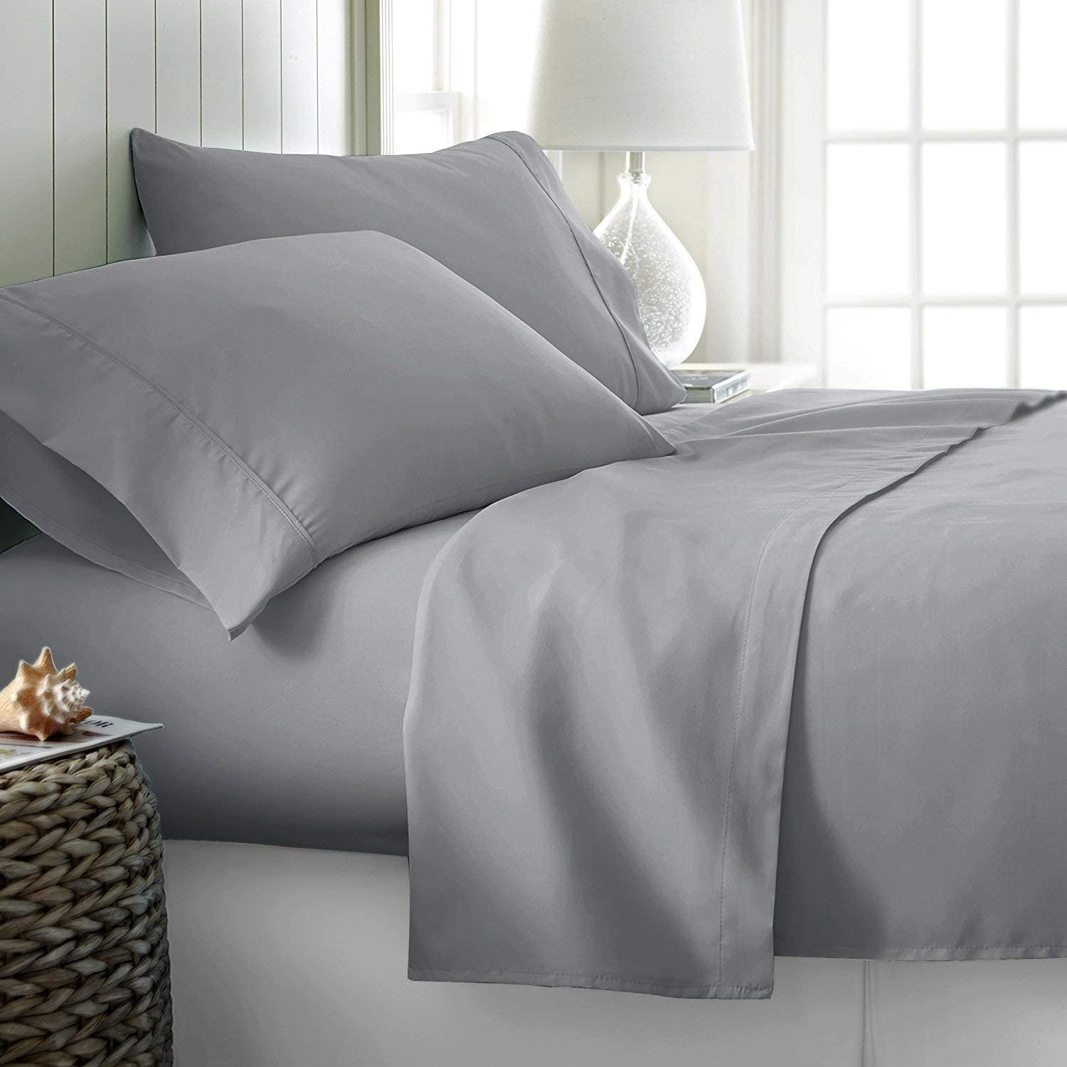 Ossam Linen Great Sale on Amazon 25% OFF Soft King Luxury 12 Excellent Sheets Size