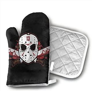 YUHUJUKU 13th Heat Insulation Gloves, A Glove,a Heat Insulation Mat.(1.6 Inches Thick)