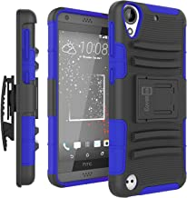 HTC Desire 530 Case, HTC Desire 630 Case, CoverON [Explorer Series] Holster Hybrid Armor Belt Clip Hard Phone Cover for HT...