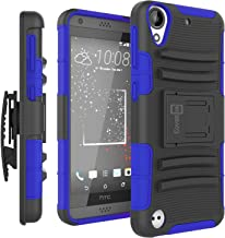 HTC Desire 530 Case, HTC Desire 630 Case, CoverON [Explorer Series] Holster Hybrid Armor Belt Clip Hard Phone Cover for HTC Desire 530 / Desire 630 Holster Case - Blue