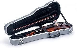 Crossrock 4/4 Violin Case-Backpack Style in Silver (CRA800SVFSL)
