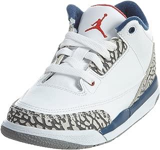 Jordan Kids Retro 3 (Ps) Dark Powder Blue/White-Black 429487-406
