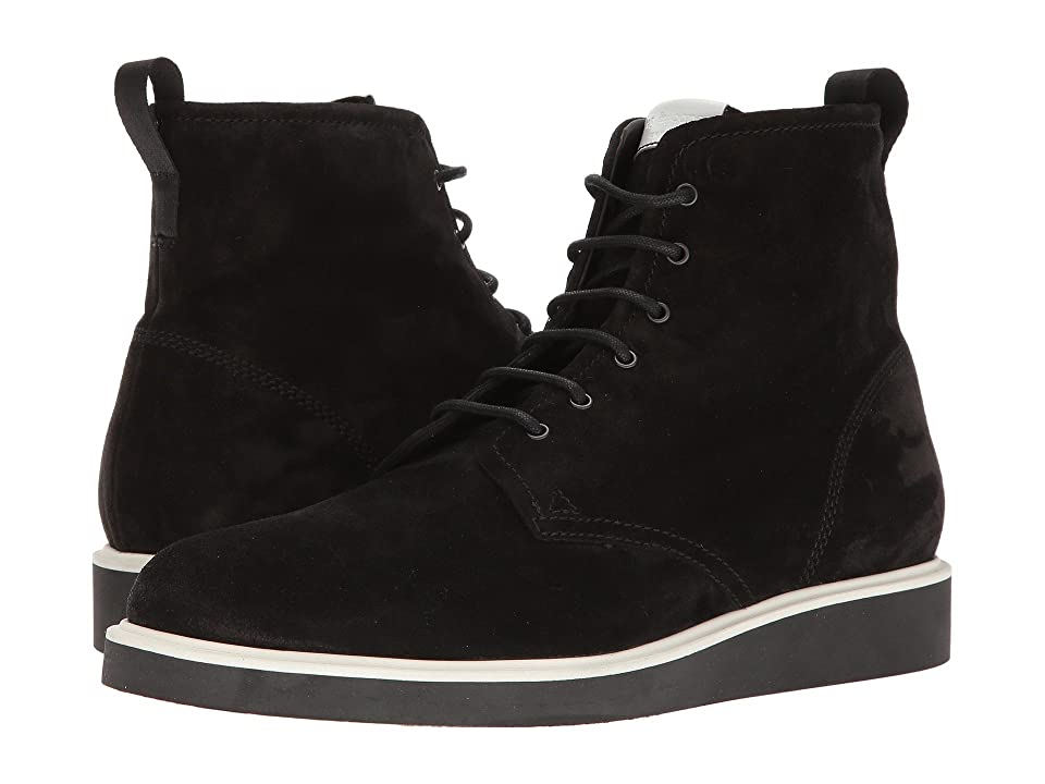 rag & bone Elliot Lace Boot (Black Waxy 1) Men