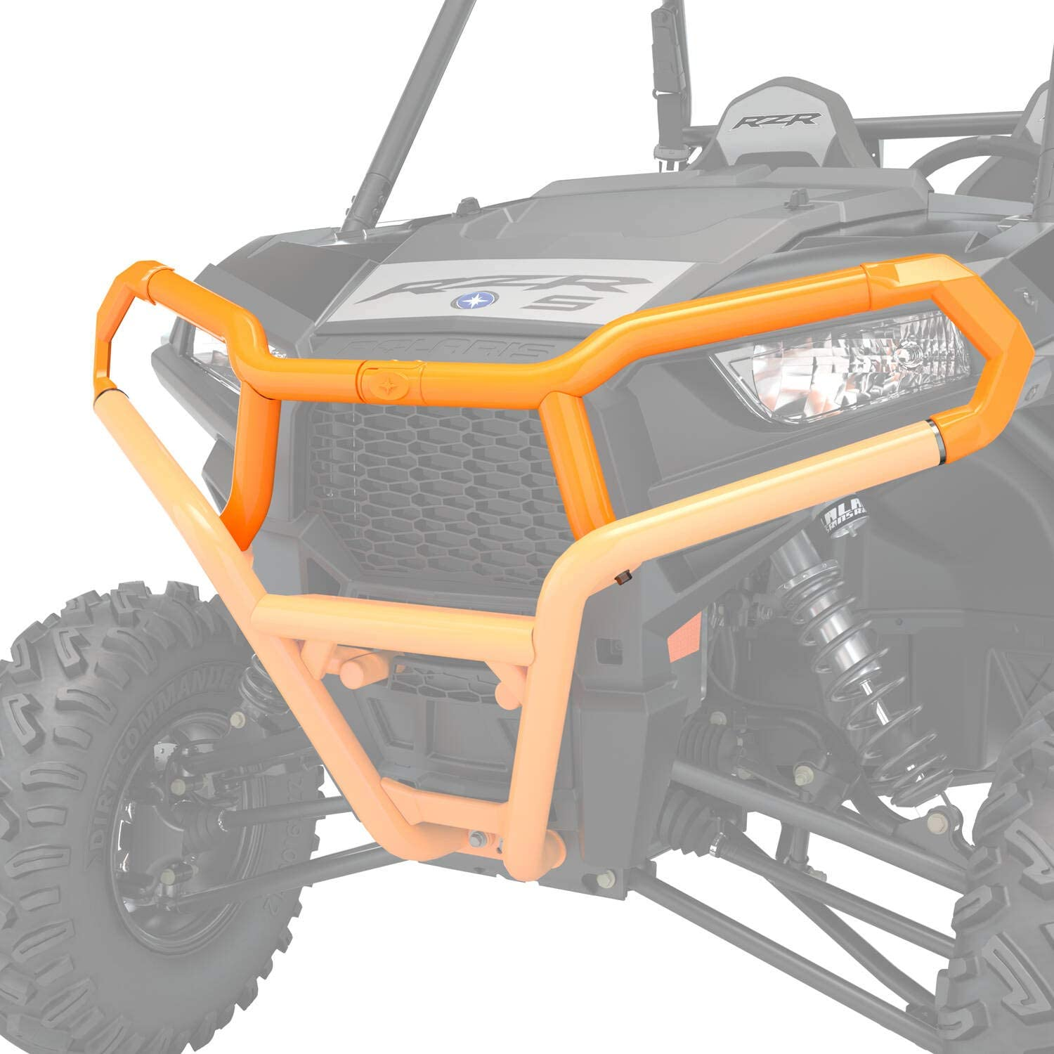 Polaris Front Extreme Mail order cheap Bumper Attachment Spectra Orange NEW before selling ☆