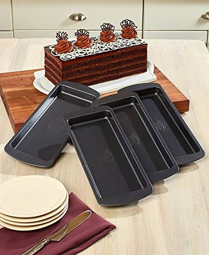discount The Lakeside Collection 2021 4-Pc. new arrival Layer Cake Pans Set outlet sale