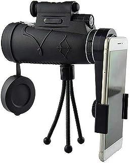 Monocular Telescope, 12X50 Monocular Telescope Adults With Tripod HD Monocular New Generation With Smartphone Portable Tel...