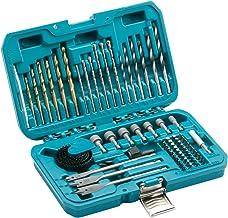 Makita p-90233Taladro eléctrico Juego de accesorios (75piezas), color azul