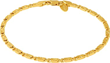 24 karat gold bracelet