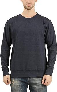 GOODTRY G Men's Cotton Sweatshirt Navy Melange