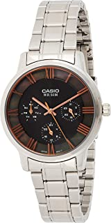 Casio Women's Silver Dial stainless Steel Band Watch