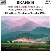 Brahms: Four-Hand Piano Music, Vol. 14