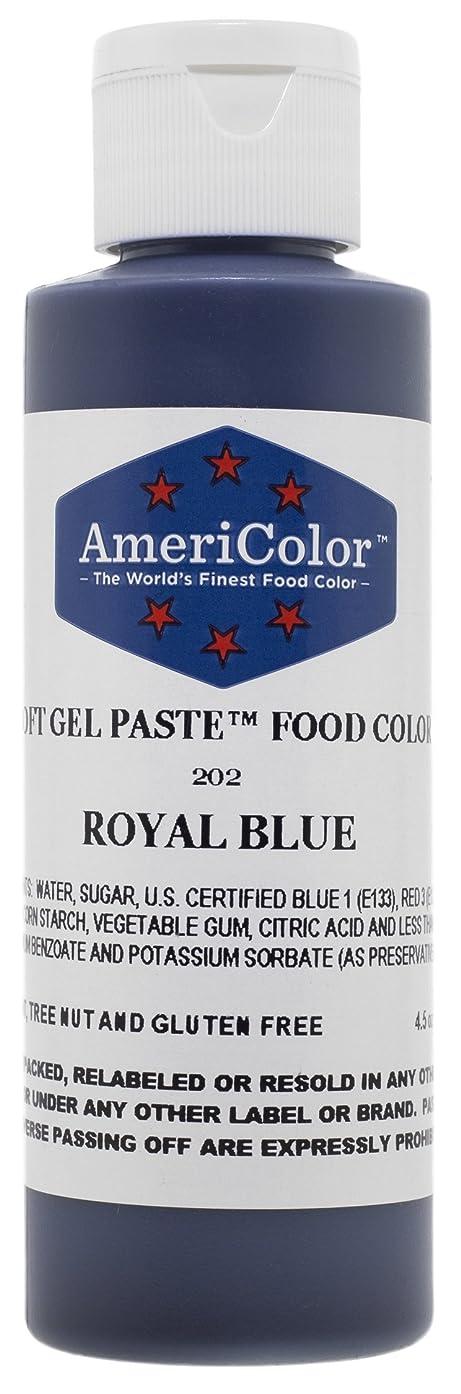 Americolor Soft Gel Paste Food Color, 4.5-Ounce, Royal Blue