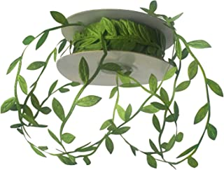 LaRibbons 1-1/4'' Leaf Ribbon - 20 Yard/Spool(Green)