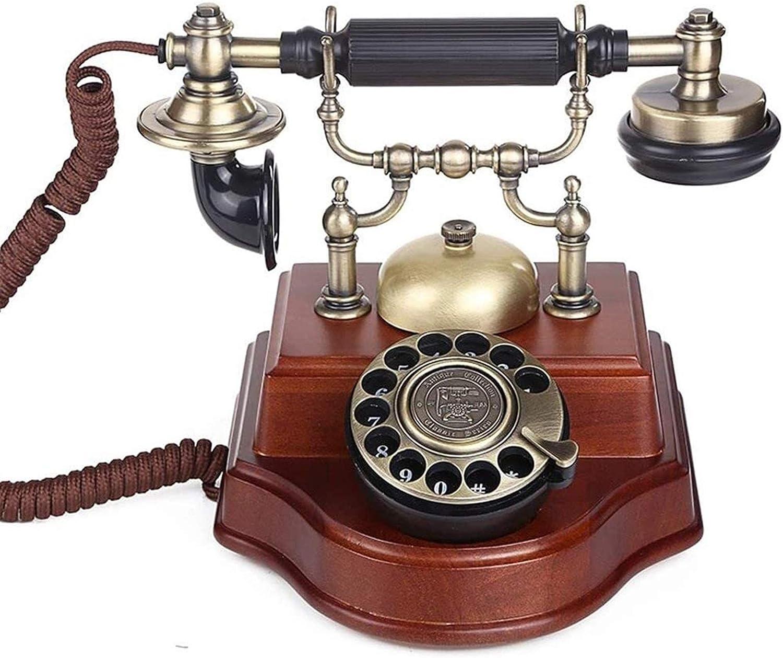 ZHENGYU Vintage Bombing free shipping Decorate European 2021 model Type Dial Tel Rotary Telephone