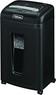 Fellowes Powershred 455Ms 9-Sheet Micro-Cut Paper and Credit Card Shredder with Auto Reverse (4689401)