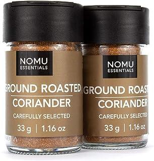 NOMU Essentials Roasted Ground Coriander Spice (2.32 oz | 2-pack) | Non-GMO, Non-Irradiated