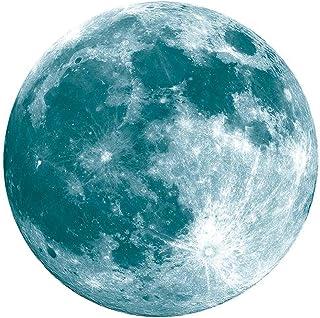 vanpower Luna Luminosa LED Tierra Tierra Pegatinas de Pared para Habitación de Niños Dormitorio Fantasía Globo
